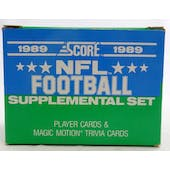 1989 Score Supplemental Football Factory Set (Reed Buy)