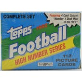 1992 Topps High Number Football Factory Set (Reed Buy)