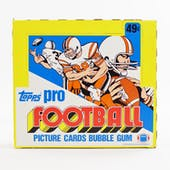 1983 Topps Football Cello Box (Reed Buy)