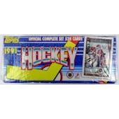 1991/92 Topps Hockey Factory Set (Reed Buy)