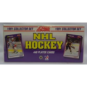 1991/92 Score U.S. Hockey Factory Set (Reed Buy)