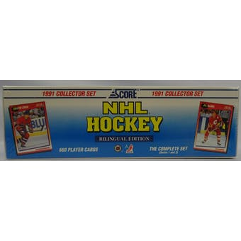 1991/92 Score Bilingual Hockey Factory Set (Reed Buy)