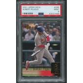 2001 Upper Deck Baseball #295 Albert Pujols Rookie PSA 9 (MINT)
