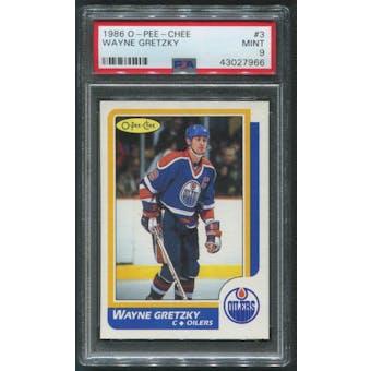 1986/87 O-Pee-Chee Hockey #3 Wayne Gretzky PSA 9 (MINT)
