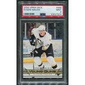 2006/07 Upper Deck Hockey #486 Evgeni Malkin Young Guns Rookie PSA 9 (MINT)