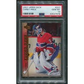 2007/08 Upper Deck Hockey #227 Carey Price Young Guns Rookie PSA 10 (GEM MT)