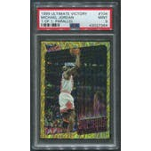 1999/00 Ultimate Victory #104 Michael Jordan Greatest Hits Gold #1/1 PSA 9 (MINT)