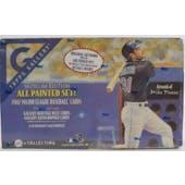 2002 Topps Gallery Museum Edition Baseball Hobby Box (Reed Buy)