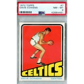 1972/73 Topps Basketball #7 Dave Cowens PSA 8 (NM-MT) *4481 (Reed Buy)