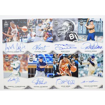 2019 Panini National Sports Convention VIP Party Exclusive Autograph Card Set #1
