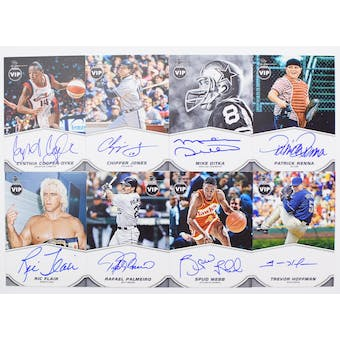 2019 Panini National Sports Convention VIP Party Exclusive Autograph Card Set #3