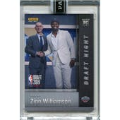 2019 Panini National Convention Instant Basketball Draft Night #DN-ZW Zion Williamson 13/25