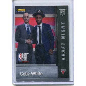 2019 Panini National Convention Instant Basketball Draft Night #DN-CW Cody White 2/25