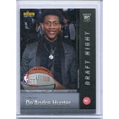 2019 Panini National Convention Instant Basketball Draft Night #DN-DH De'Andre Hunter /25