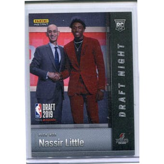 2019 Panini National Convention Instant Basketball Draft Night #DN-NL Nassir Little /25