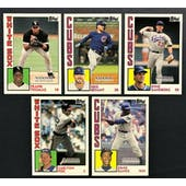 2019 Topps National Sports Collectors Convention VIP Exclusive Set 1984 Baseball