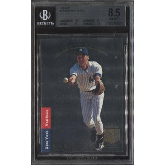 1993 SP Derek Jeter Foil Rookie Card #279 BGS 8.5 (10,9,8,8.5)