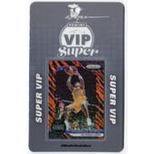 2019 Panini National Super VIP Party Event Badge Shaquille O'Neal 1/1 Prizm