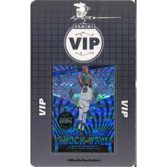 2019 Panini National VIP Party Event Badge Kevin Durant 1/1 Revolution