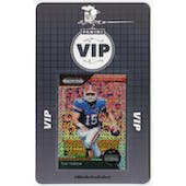 2019 Panini National VIP Party Event Badge Tim Tebow 1/1 Prizm