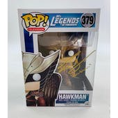 DC CW Legends of Tomorrow Hawkman Funko POP Autographed by Falk Hentschel