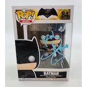 DC Batman V Superman Batman Funko POP Autographed by Ben Affleck