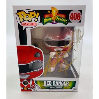 Power Rangers Red Funko POP Autographed by Austin St. John
