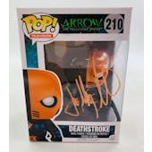 DC CW Arrow DeathStroke Funko POP Autographed by Joe Manganiello