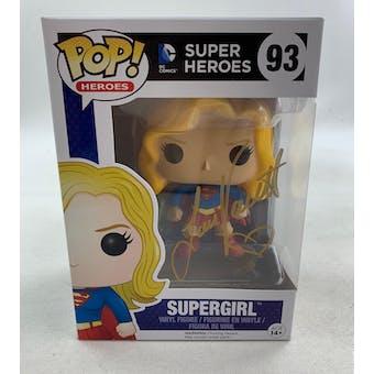 DC CW Smallville Supergirl Funko POP Autographed by Laura Vandervoort