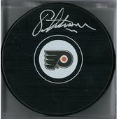 Eric Lindros Autographed Philadelphia Flyers Hockey Puck (Frameworth COA)
