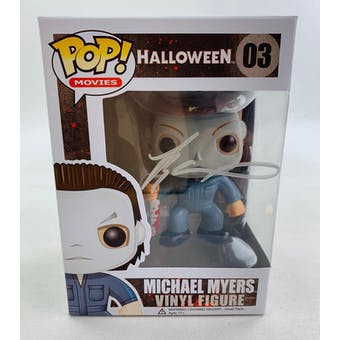 Halloween Michael Myers Funko POP Autographed by Tyler Mane