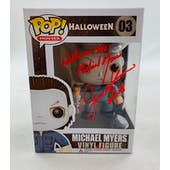 Halloween Michael Myers Funko POP Autographed by Jim Winburn