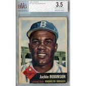 1953 Topps Baseball #1 Jackie Robinson BVG 3.5 (VG+) *7375 (Reed Buy)