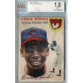 1954 Topps Baseball #94 Ernie Banks RC BVG 1.5 (Fair) *0494 (Reed Buy)
