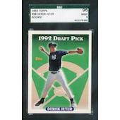 1993 Topps Baseball #98 Derek Jeter RC SGC 96 (Mint) *0003 (Reed Buy)