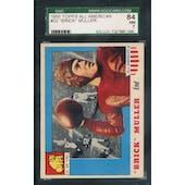 1955 Topps All-American Football #22 Brick Muller SGC 84 (NM) *7060 (Reed Buy)