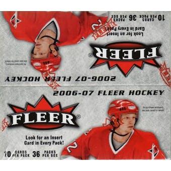 2006/07 Fleer Hockey 36-Pack Box
