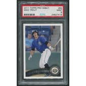 2011 Topps Pro Debut #263 Mike Trout Rookie PSA 9 (MINT)