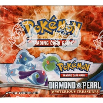 Pokemon Diamond & Pearl Mysterious Treasures Booster Box