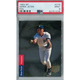 1993 SP Baseball #279 Derek Jeter RC PSA 9 (Mint) *1316 (Reed Buy)
