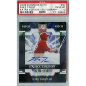 2009 Donruss Elite Extra Edition Baseball #57 Mike Trout Autograph #/495 PSA 10 (Gem Mint) *0909 (Reed Buy)