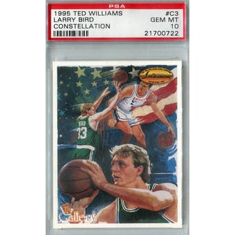 1994/95 TWCC Basketball #C3 Larry Bird Constellation PSA 10 (Gem Mint) *0722 (Reed Buy)