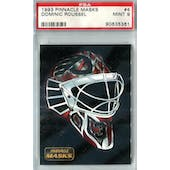 1993/94 Pinnacle Masks Hockey #4 Dominic Roussel PSA 9 (Mint) *5361 (Reed Buy)