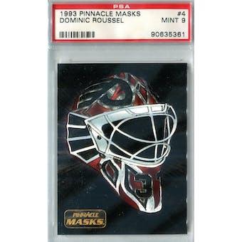 1993/94 Pinnacle Masks Hockey #4 Dominic Roussel PSA 9 (Mint) *5361 (Reed Buy)