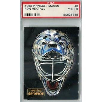 1993/94 Pinnacle Masks Hockey #8 Ron Hextall PSA 9 (Mint) *5359 (Reed Buy)