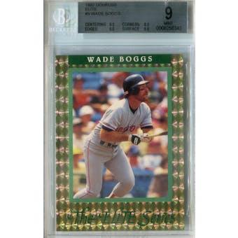 1992 Donruss Elite Baseball #9 Wade Boggs #/10,000 BGS 9 (Mint) *6343 (Reed Buy)