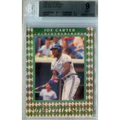 1992 Donruss Elite Baseball #10 Joe Carter #/10,000 BGS 9 (Mint) *8832 (Reed Buy)