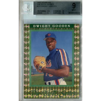 1992 Donruss Elite Baseball #12 Dwight Gooden #/10,000 BGS 9 (Mint) *8834 (Reed Buy)