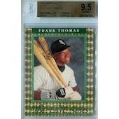 1992 Donruss Elite Baseball #18 Frank Thomas #/10,000 BGS 9.5 (Gem Mint) *4145 (Reed Buy)
