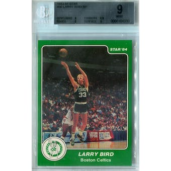 1983/84 Star Basketball #26 Larry Bird SP BGS 9 (Mint) *4330 (Reed Buy)